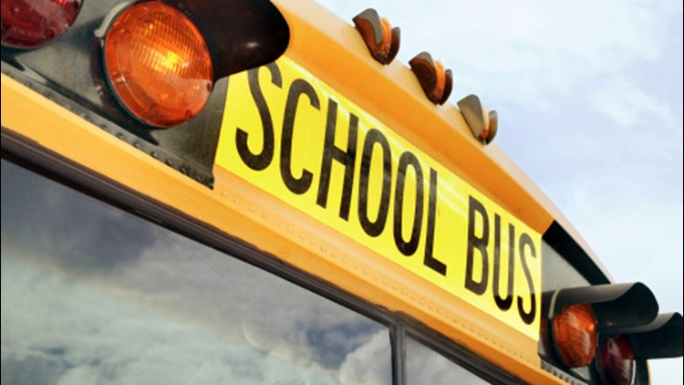 Injuries reported in Lawrence County crash involving school bus and tractor-trailers