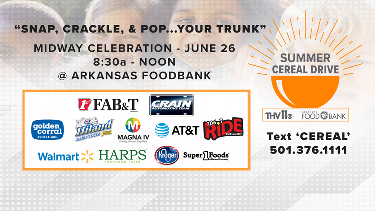 THV11 Summer Cereal Drive | Info on 20th year
