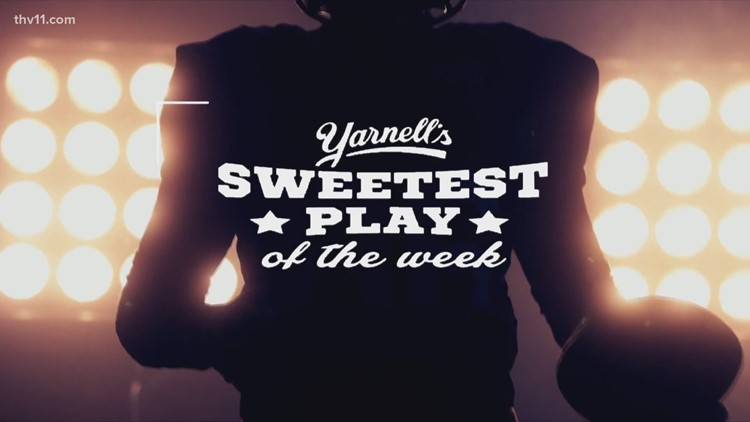 North Little Rock's Fred O'Donald wins Yarnell's Sweetest play for week 2!