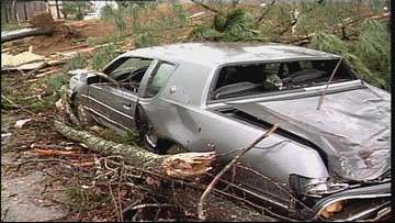 In March 1997, several tornadoes ravaged through Arkansas, killing 25 people