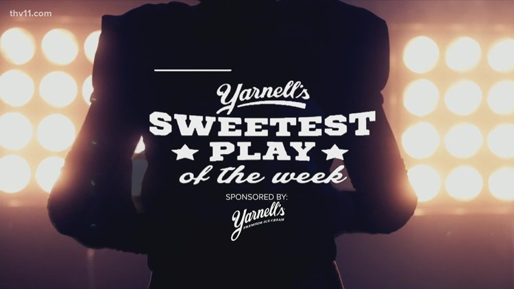Conway's helmet bounce TD wins Yarnell's Sweetest Play for Week 2!
