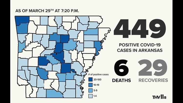 Two Travel Related Cases Of Covid 19 Reported In Harris: Positive COVID-19 Cases Rises To Over 400 In Arkansas