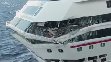 Jacksonville woman on board of cruise ship collision