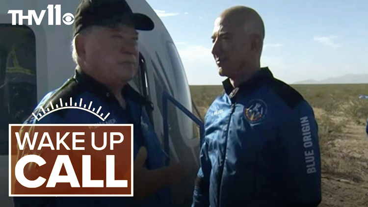 Supply chain issues & Shatner in space | Wake Up Call w/ Hayden Balgavy