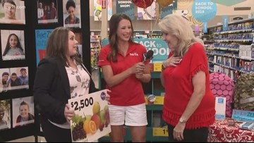 Kroger donates $2,500 in giftcards to Project Zero