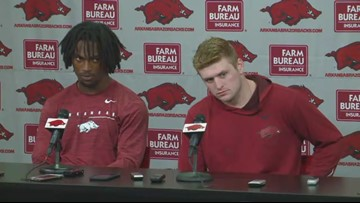Players react to 51-10 loss to Auburn