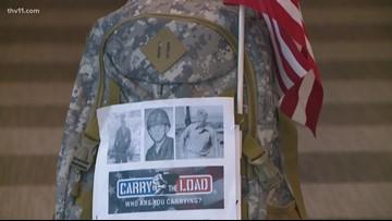 Carry the Load   Gold Star daughter walks for fallen Vietnam War father