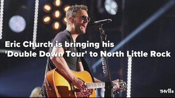 Eric Church coming to North Little Rock