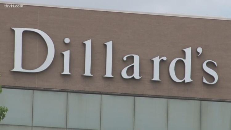 First Dillard's Clearance center at Pines Mall in Pine Bluff