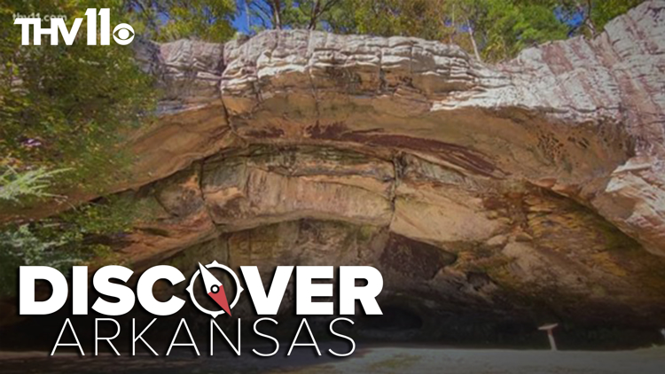 Indian Rock Cave & Trail   Discover Arkansas