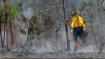 Smoke alert: Arkansas National Guard conducting controlled burn on Camp Robinson