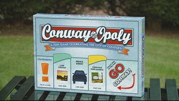 Excitement builds in Conway after release of 'Conwayopoly' board game
