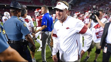 Morris' tenure mirroring another failed Razorback coach, only worse