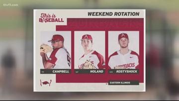 Diamond Hogs announce weekend rotation