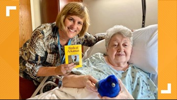 Birds bring joy to those in Little Rock hospice care