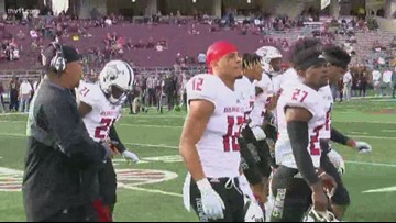 Arkansas State rolls to 33-7 victory over Texas State