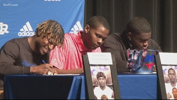 Trio of NLR Charging Wildcats sign LOI
