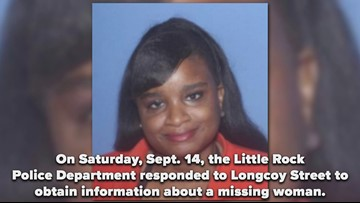 Little Rock woman missing since leaving kids at mother's house over a month ago
