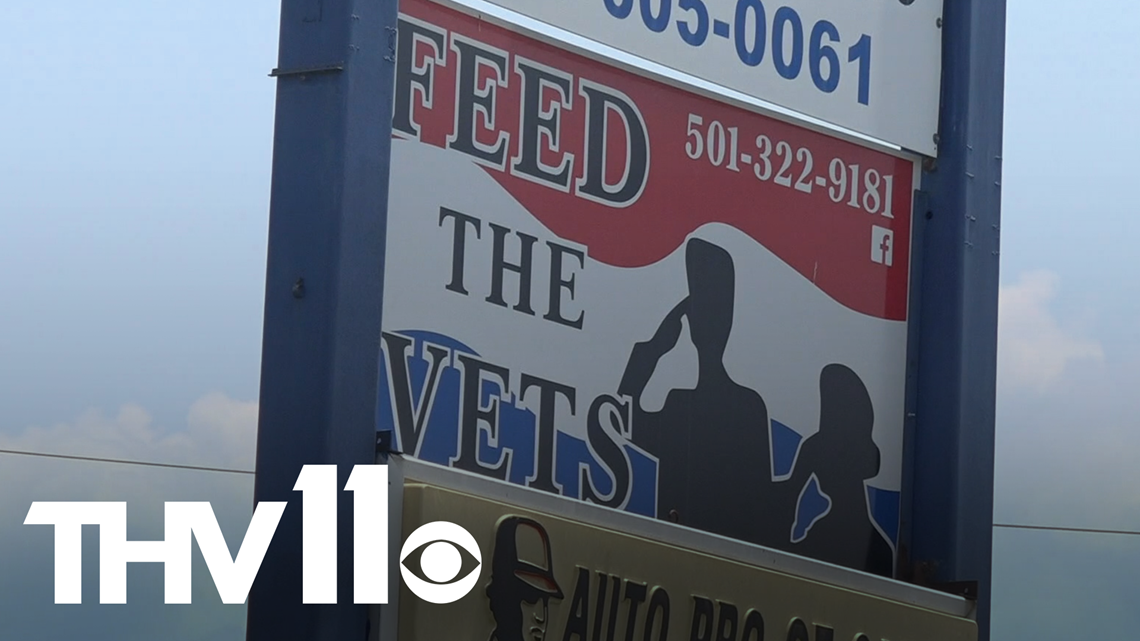 Veterans helping fellow vets through special food bank