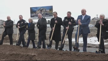 North Little Rock breaks ground of Justice Center, housing all current 5 buildings into one