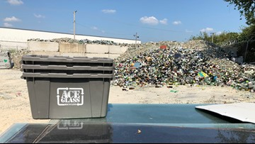 Pulaski County recycling glass in record quantities after curbside pickup discontinued