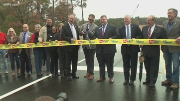 The long-awaited Maumelle interchange is now open.. for real this time