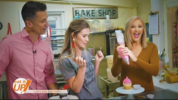 Visit cupcake lover's heaven at the Cupcake Factory!