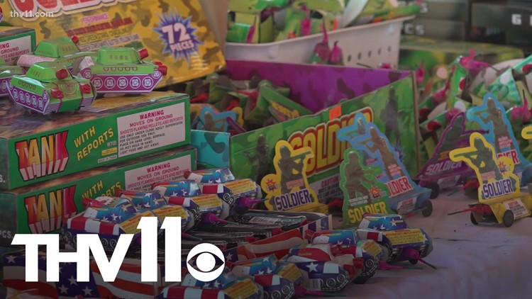 What do I need to know about firework laws in Arkansas?