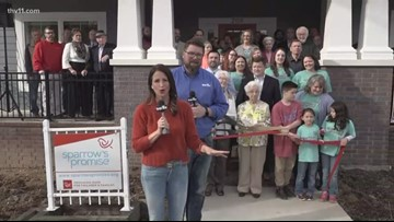 Sparrow's Promise hosts ribbon-cutting on new foster home in Searcy