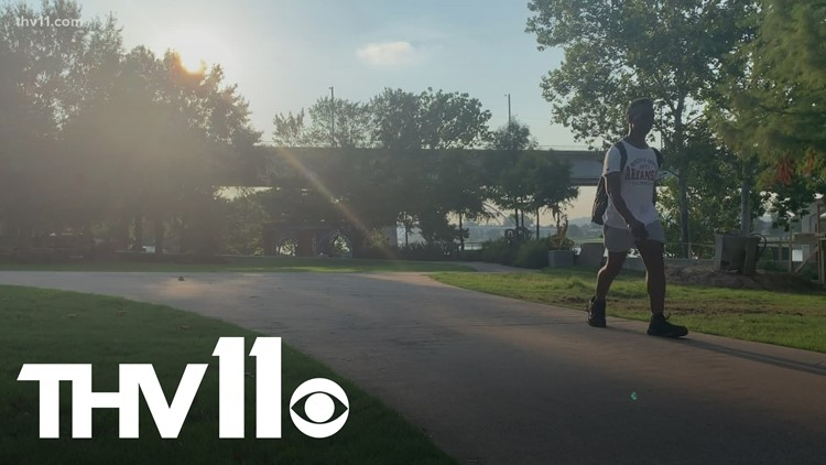 Arkansans try to stay cool as temperatures reach triple digits