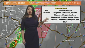 Morning weather forecast for March 14