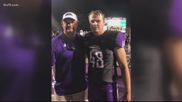 UCA Bear honors late father on the field