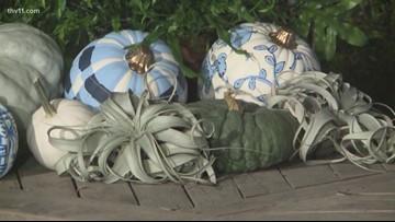 New autumn colors | blue, white pumpkins with Chris H. Olsen