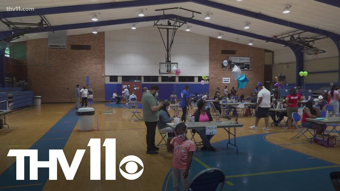 Vaccination clinic held in Little Rock, honors loved ones lost to COVID-19