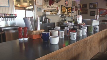 Coffee cup connection: Central Arkansas restaurant using mugs to bond with regulars
