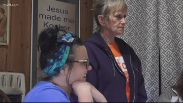 Woman provides home for recovering addicts