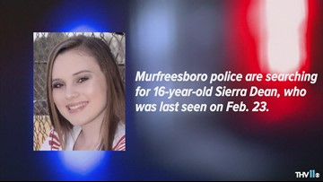 Policed ask for help looking for missing Murfreesboro girl