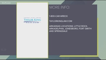 Things not to do after a car accident with Taylor King