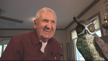 85-year-old North Little Rock man reveals decades of carving masterpieces for the first time