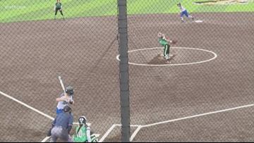 Bryant softball storms back past Van Buren 10-8