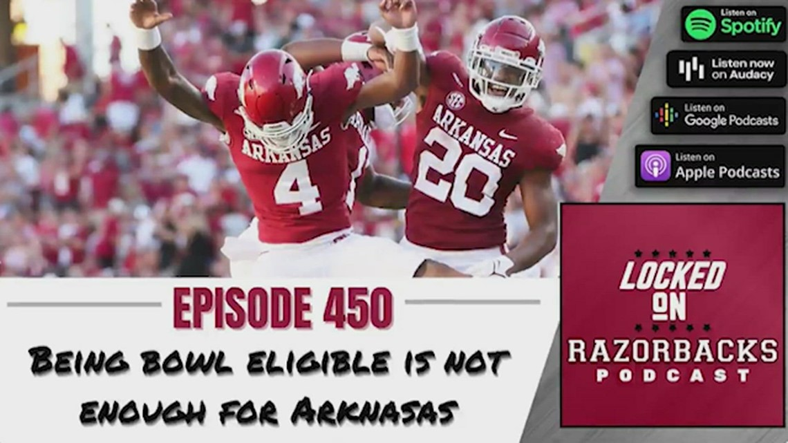 Being bowl eligible is not enough for the Arkansas Razorbacks