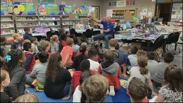Squirrel Squabble in Conway shocks second and third graders