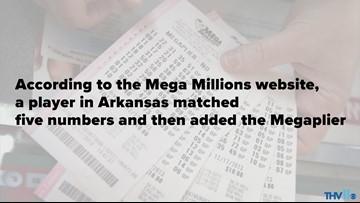 Dumas lottery winner becomes millionaire & grandmother on