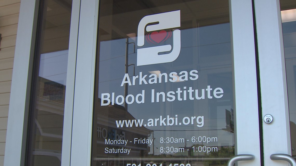 Blood centers in Arkansas asking for donations ahead of floods
