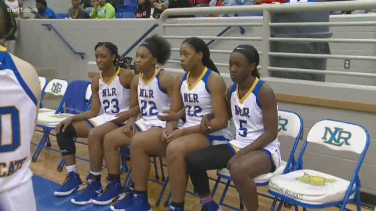 NLR Lady Charging Wildcats end Northside's undefeated season