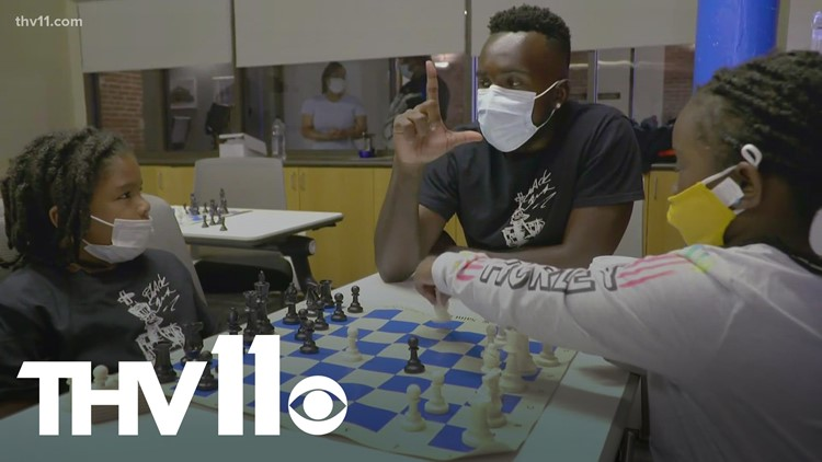 Chess master inspiring next generation of players