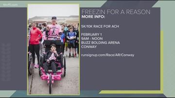 'Freezin for a Reason' raising money for Arkansas Children's Hospital