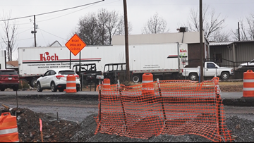 Highway 5 traffic becoming headache for Bryant drivers and businesses