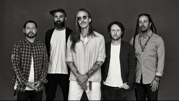 Incubus playing summer concert at Walmart AMP in Rogers