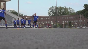 East boys take down West, 4-1, in All-Star soccer match